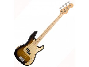 Fender Road Worn '50s Precision Bass, Maple Fingerboard, 2-Color Sunburst