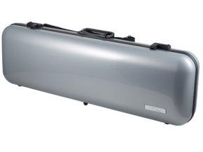 GEWA Cases Violin case Air 2.1 Silver metallic high gloss