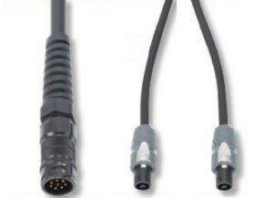 SOMMER L/S Kabel Meridian 2x2,5qmm, 1,00m