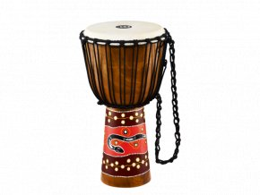 MEINL AFRICAN STYLE DJEMBE LARGE, PAINTED, PHYTON DESIGN