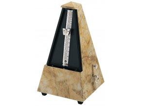 Wittner Metronome Pyramid shape Light brown 845104