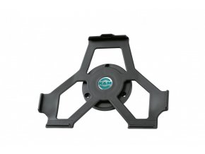 K&M 19732 iPad wall mount black