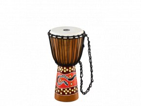 MEINL AFRICAN STYLE DJEMBE MEDIUM, PAINTED, PYTHON DESIGN