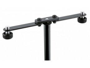 K&M 23510 Microphone bar black