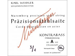 Nurnberger Strings For Double Bass Precision orchestra tuning 3/4