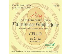Nurnberger Strings For Cello KŘnstler 3/4