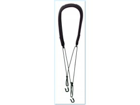 Neotech Clarinet strap Classic 2-Hook Black, Length 41,9 - 55,8 cm
