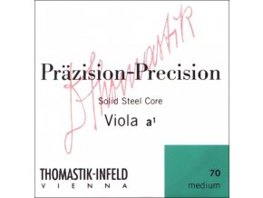 Thomastik Strings For Viola Precision steel solid core Medium