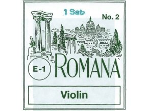 Romana Strings For Viola G Silver plated