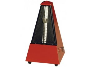 Wittner Metronome Pyramid shape Dark red matt 845201