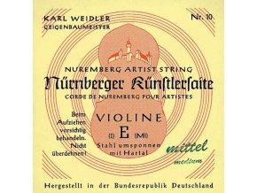 Nurnberger Strings For Violin Kuenstler strand core 1/8