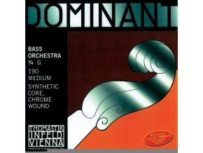 Thomastik Strings For Double Bass Dominant nylon core E x