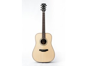 KLEMA dreadnought-solid alpine spruce top