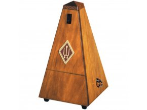 Wittner Metronome Pyramid shape Nut brown matt 803M