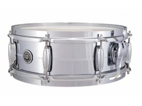 "Gretsch Snare Brooklyn Series GB4000 Metal, 5x14"" Chrome Over Brass Shell"