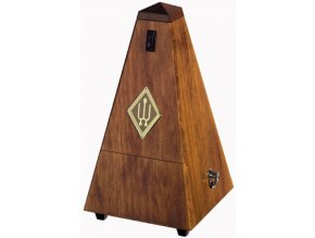 Wittner Metronome Pyramid shape Walnut high gloss 804