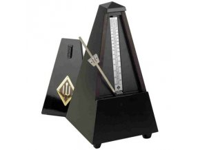 Wittner Metronome Pyramid shape Black high gloss 806