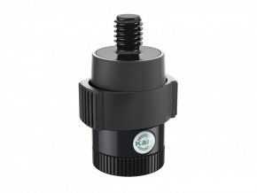 K&M 23910 Quick-Release Adapter for microphones black