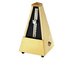 Wittner Metronome Pyramid shape Natural maple matt 807A