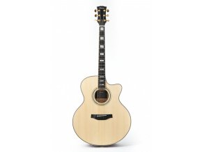 KLEMA grand auditorium-solid alpine spruce top-cutaway -electronics