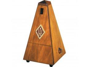 Wittner Metronome Pyramid shape Nut brown matt 813M