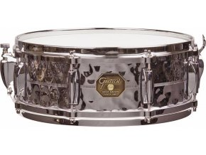 "Gretsch Snare G4000 Series 5x14"" Hammered Chrome Over Brass Shell"