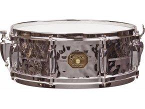 "Gretsch Snare G4000 Series 5x14"" Hammered Chrome Over Brass Shell"