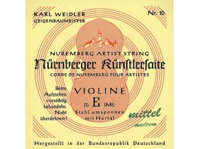 Nurnberger Strings For Violin Kuenstler strand core 3/4