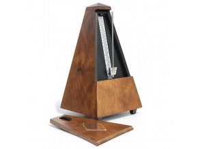 Wittner Metronome Pyramid shape Oak brown. matt 818