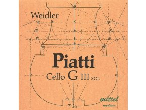 Piatti Strings For Cello Medium