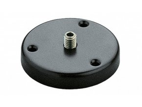 K&M 221 d Table flange black