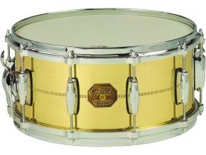"""Gretsch Snare G4000 Series 6,5x14"""" Solid Spun Brass Shell"""