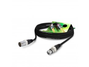 Sommer Cable MC Carbokab, Black, 2,50m