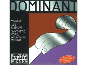 Thomastik Strings For Viola Dominant nylon core C Silver