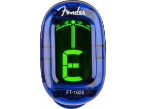 Fender California Series Clip-On Tuner, Lake Placid Blue
