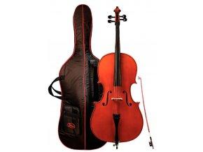 GEWA Cello outfit GEWA Strings Ideale 1/8