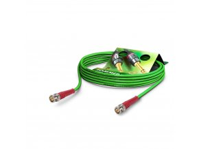 Sommer Cable Coaxcable Focusline L, Green, 0,75m