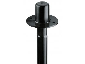 K&M 19654 Flange adapter black
