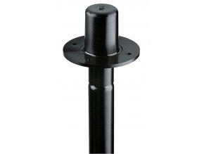 K&M 19654 Flange adapter black