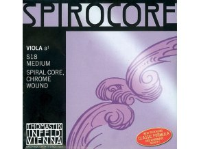 Thomastik Strings For Viola Spirocore spiral core Soft