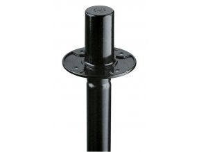 K&M 19656 Flange adapter black