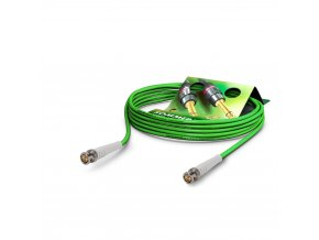 Sommer Cable Coaxcable Focusline L, Green, 1,00m