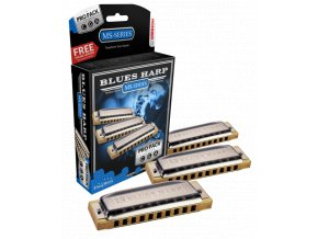 HOHNER Blues Harp MS 532/20 Pro Pack
