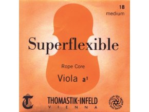 Thomastik Strings For Viola Superflexible rope core Soft