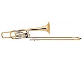 Vincent Bach Bb/F/Eb-Bass Trombone 50B2LO Stradivarius 50B2LOG
