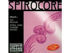 Thomastik Strings For Cello Spirocore spiral core Medium