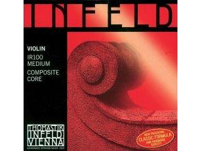 Thomastik Strings For Violin Infeld hybrid core Set red