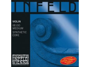 Thomastik Strings For Violin Infeld hybrid core Set blue