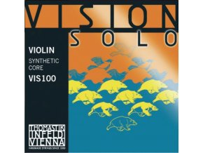 Thomastik Infeld Strings For Violin Vision solo Set (Silver D)