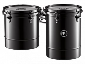 "MEINL 8""x9"" + 8""x11"" TIMBALE BLACK NICKEL FINISH"